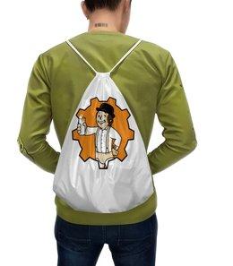 """Рюкзак-мешок с полной запечаткой """"заводной апельсин ( A Clockwork Orange )"""" - заводной апельсин, fallout, фоллаут, vault boy, a clockwork orange"""