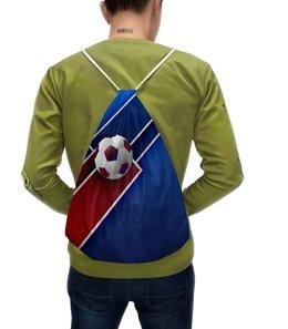"Рюкзак с полной запечаткой ""Футбол"" - футбол, спорт, мяч, 2018"