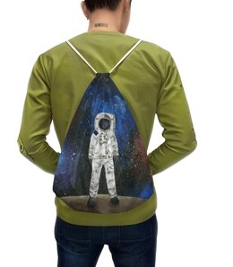 """Рюкзак с полной запечаткой """"Космонавт"""" - арт, космос, космонавт"""