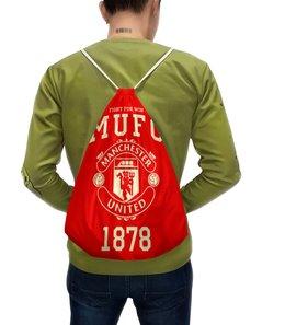 """Рюкзак с полной запечаткой """"Манчестер Юнайтед"""" - манчестер юнайтед, manchester united, футбольный клуб, красные дьяволы, мю"""