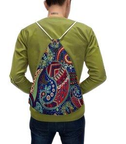 """Рюкзак с полной запечаткой """"Этнический узор"""" - узор, орнамент, этно, мандала, этнический"""