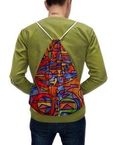"""Рюкзак с полной запечаткой """"nj2]0-=-.'11"""" - арт, узор, абстракция, фигуры, текстура"""