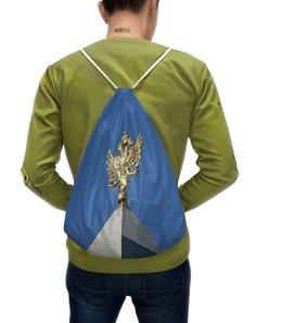 """Рюкзак с полной запечаткой """"Двуглавый орел."""" - россия, герб, небо, символ, двуглавый орел"""