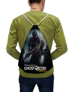 "Рюкзак с полной запечаткой ""Tom Clancy's Ghost Recon Wildlands"" - tom clancys ghost recon wildlands, ghost recon, tom clancy, игры, для геймеров"