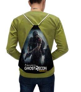 """Рюкзак-мешок с полной запечаткой """"Tom Clancy's Ghost Recon Wildlands"""" - игры, для геймеров, ghost recon, tom clancys ghost recon wildlands, tom clancy"""