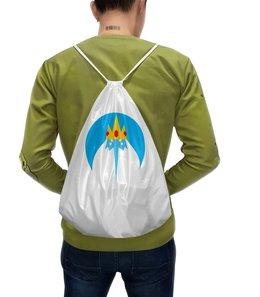 """Рюкзак с полной запечаткой """"Снежный король"""" - adventure time, время приключений, ледяной король, снежный король"""