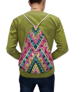 """Рюкзак с полной запечаткой """"Орнамент"""" - узор, этнический, этно, орнамент"""