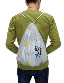 """Рюкзак-мешок с полной запечаткой """"Субару """" - автомобили, subaru, машины, я люблю, субарист"""