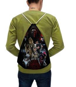 """Рюкзак с полной запечаткой """"Star Wars"""" - star wars, звездные войны, чубакка, кайло рен"""