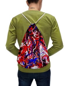 """Рюкзак-мешок с полной запечаткой """"картина"""" - абстракция"""