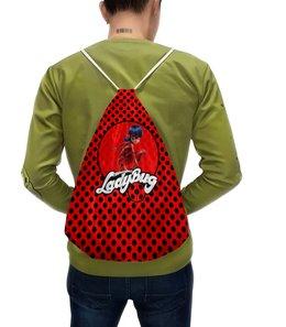 """Рюкзак-мешок с полной запечаткой """"Леди Баг и Супер-Кот"""" - мульт, леди баг"""