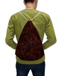 """Рюкзак с полной запечаткой """"SAMUR R"""" - узор, орнамент, абстракция, необычный узор, биотех"""