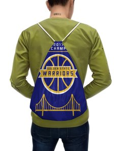 "Рюкзак с полной запечаткой ""Golden State Champions"" - баскетбол, nba, нба, golden state warriors, кевин дюрант"