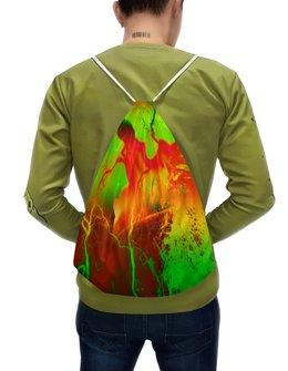 """Рюкзак-мешок с полной запечаткой """"Пятна краски"""" - узор, космос, пятна, краски, абстракция"""