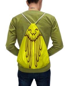 """Рюкзак-мешок с полной запечаткой """"крылья"""" - крылья, с крыльями"""