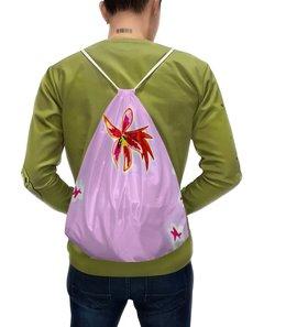 """Рюкзак с полной запечаткой """"Осень пришла..."""" - цветы, листья, осень, листва"""