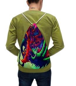 """Рюкзак с полной запечаткой """"Чудовище"""" - игры, монстр, краски, зверь, чудовище"""