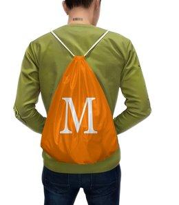 """Рюкзак с полной запечаткой """"Монограмма"""" - подарок, монограмма, персональный, имя"""