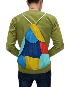 """Рюкзак с полной запечаткой """"Разноцветная абстракция"""" - узор, стиль, рисунок, орнамент, абстрактный"""