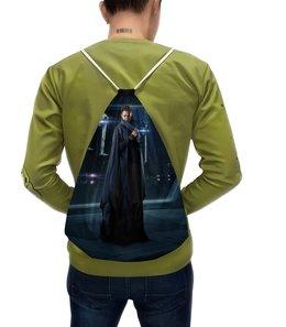 """Рюкзак-мешок с полной запечаткой """"Звездные войны - Лея"""" - кино, фантастика, star wars, звездные войны, дарт вейдер"""