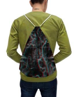 """Рюкзак-мешок с полной запечаткой """"Молния"""" - узор, космос, краски, абстракция, молния"""
