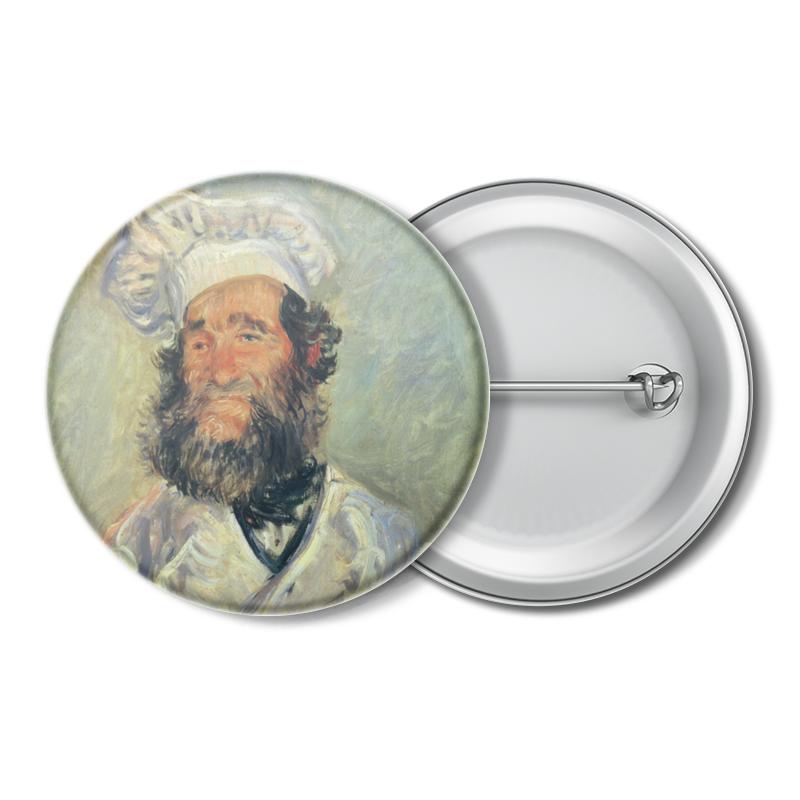 Printio Портрет папаши поля (клод моне) в и жиглов художник клод моне 1860–1925