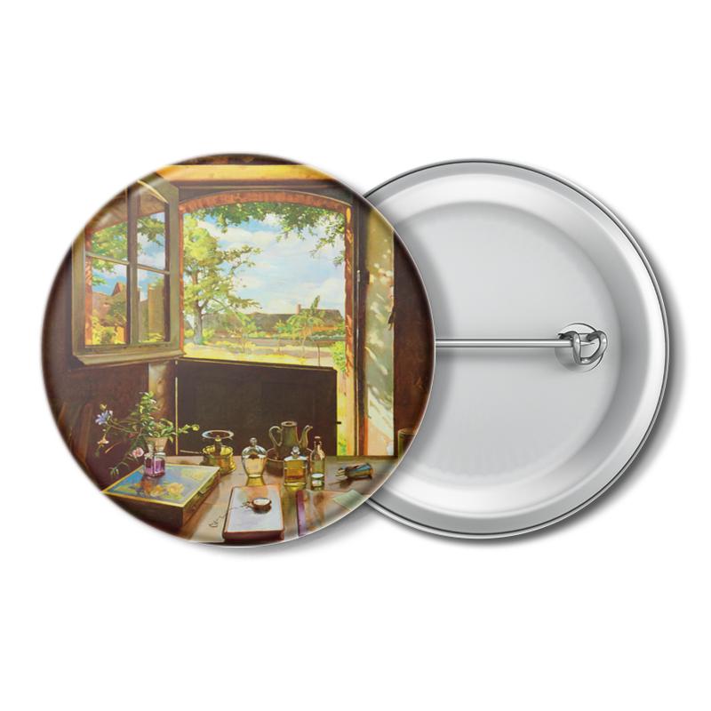 Printio Открытая дверь в сад (картина сомова) л в короткина константин андреевич сомов