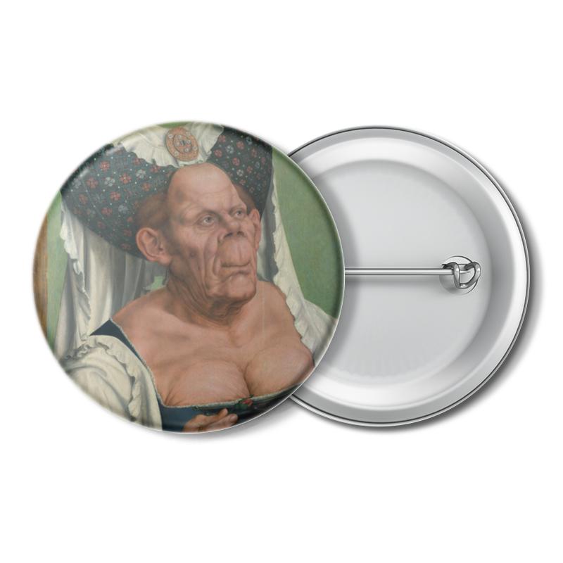 лучшая цена Printio Уродливая герцогиня (картина квентина массейса)