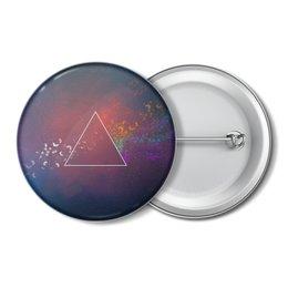 "Значок ""Pink Floyd"" - музыка, рок, пинк флойд, pink floyd"