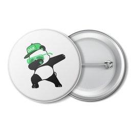 "Значок ""Dab Panda "" - животные, панда, panda, дэб, dab"