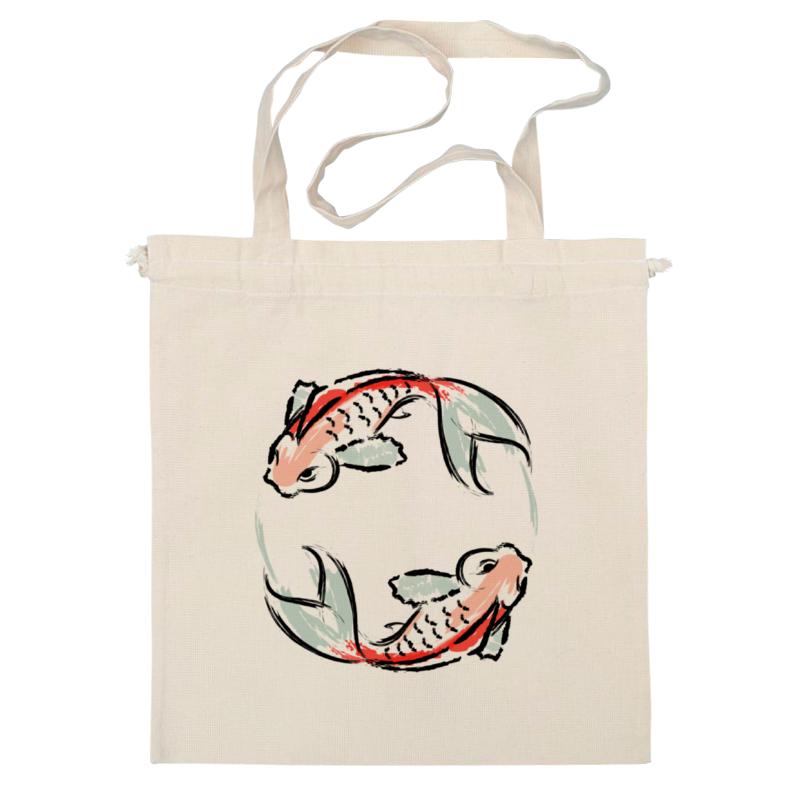 Сумка Printio Знак зодиака рыбы рыбы серия