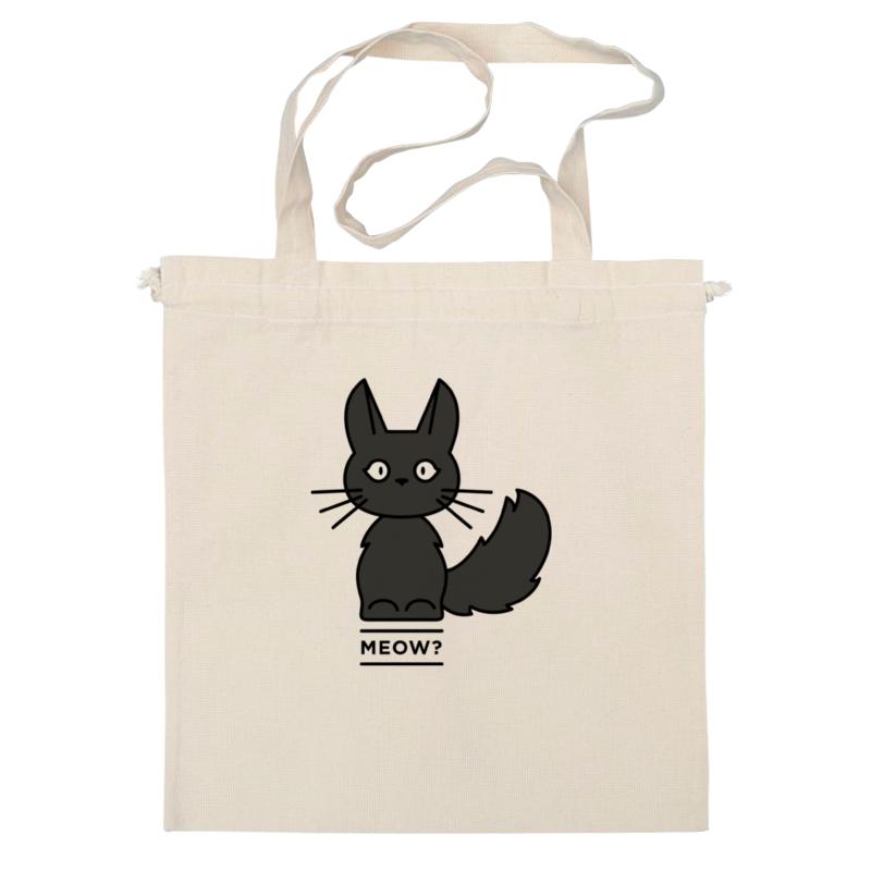 Сумка Printio Черная кошка сумка черная замшевая фото