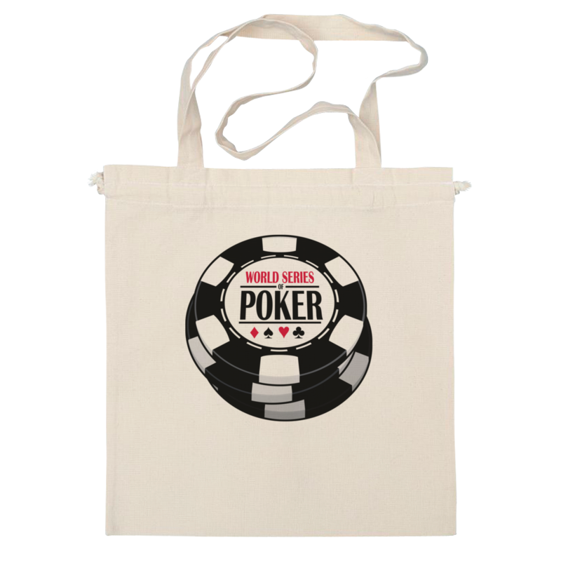 Сумка Printio Покер (poker) 50 clay composite striped dice 11 5 gram poker chips by brybelly