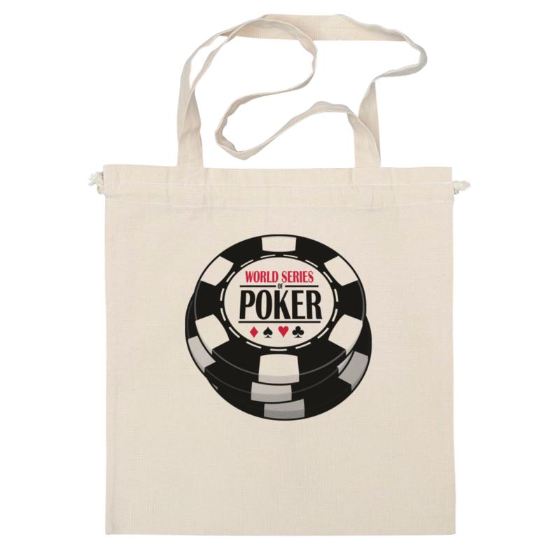 Сумка Printio Покер (poker) bicycle world series of poker playing cards 2 pack