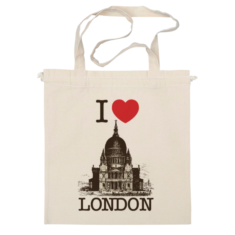 Сумка Printio I love london paul carrack london