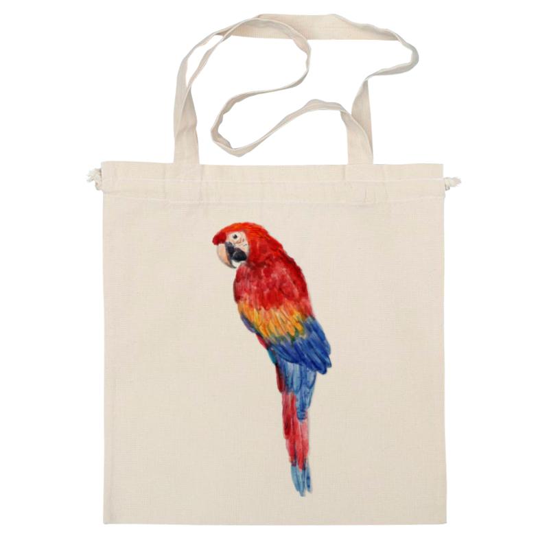 цена Сумка Printio Попугай ара онлайн в 2017 году