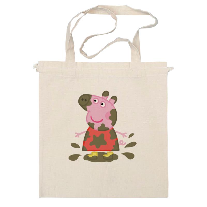 Сумка Printio Peppa pig мягкая игрушка peppa pig джордж с машинкой свинка розовый текстиль 18 см 29620