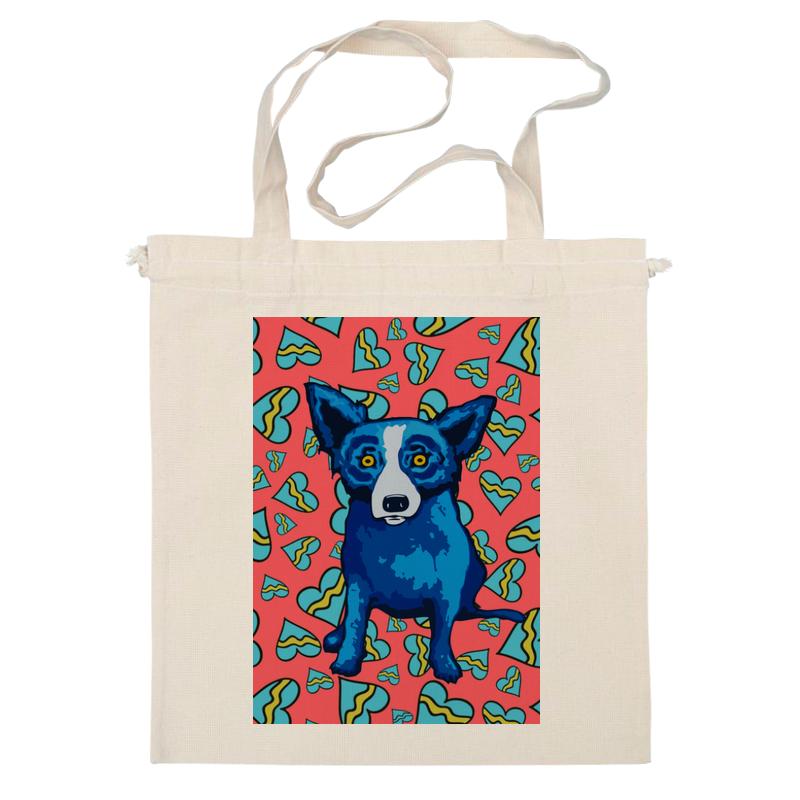 Сумка Printio Синий пес именной набор конфет любимой маме