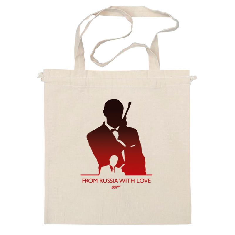 Сумка Printio 007: из россии с любовью сумка printio делай с любовью