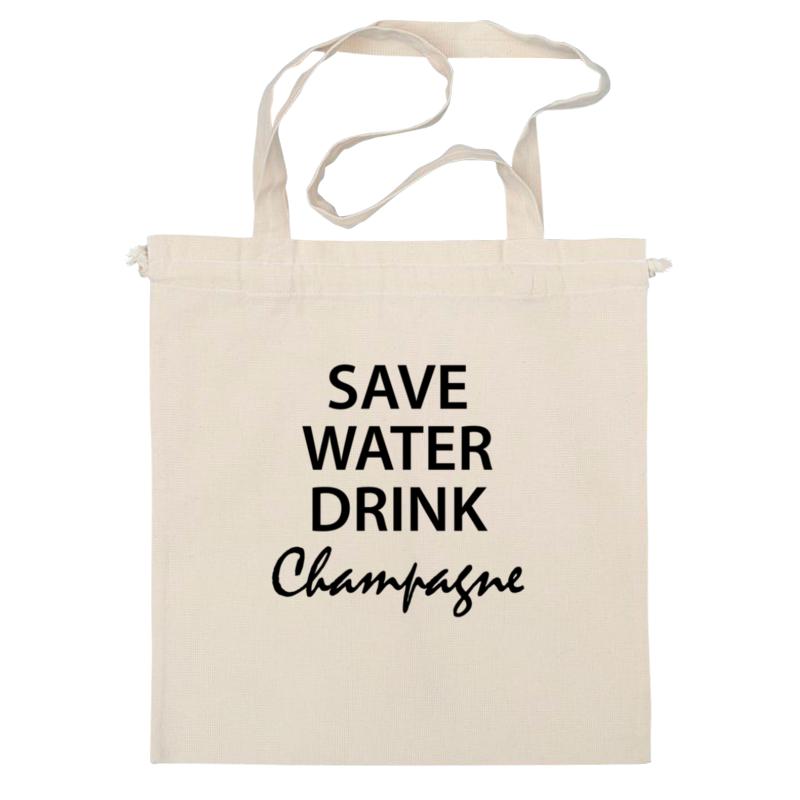Сумка Printio Save water wine ver 2 save water