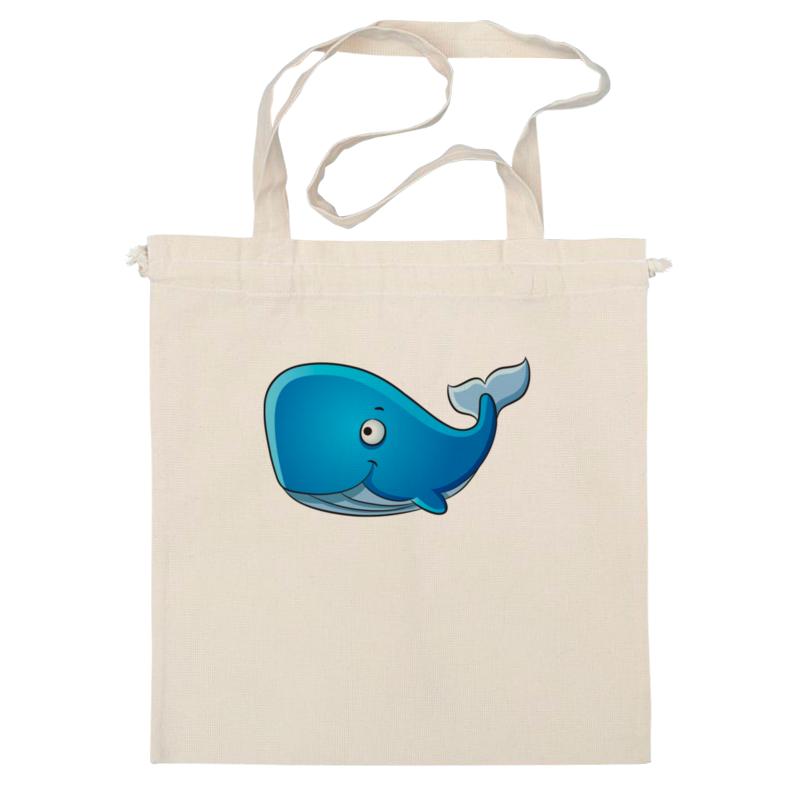 Сумка Printio Голубой морской кит-кашалот чехол для ноутбука 14 printio морской бой