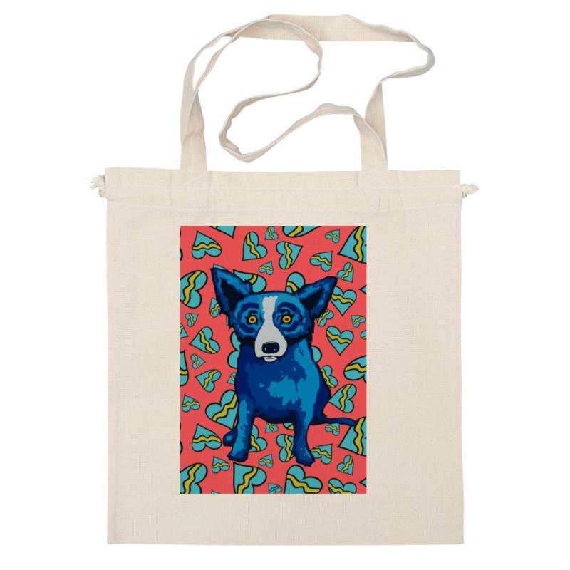 Сумка Printio Синий пес сумка printio брутальный пес