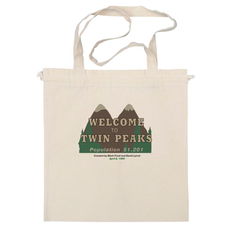 Сумка Printio Twin peaks виниловая пластинка сборник twin peaks limited event series soundtrack score