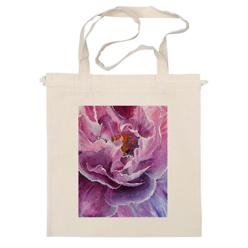 Сумка Printio Цветок маслом mayflower майский цветок слой ткани 230 м 2 12 туалет большой объем продаж бизнес fcl