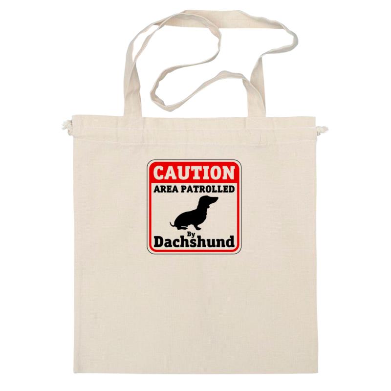 Сумка Printio Caution dachshund patrole lust caution 3001
