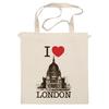 "Сумка ""I love london"" - лондон, i love london"