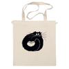 """Сумка """"котэ-сумка"""" - котята, смешной кот, black cat, чёрный кот"""