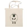 """Сумка """"Овечка Символ Нового 2015 года"""" - новый год, серый, белый, символ года, new year, мимими, sheep, 2015, овечка, няшмяш"""