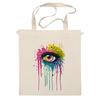 "Сумка ""Глаз Алмаз"" - splash, арт, авторские майки, color, eye"
