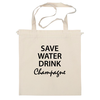 "Сумка ""Save Water"" - вода, water, шампанское, champagne"